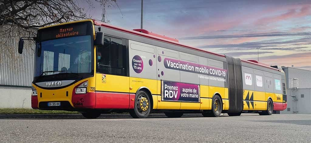 Vacci'Bus : centre de vaccination mobile | Mulhouse Alsace Agglomération – m2A